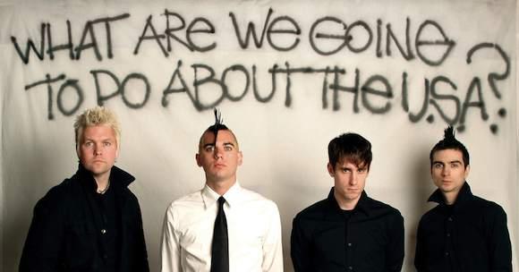 Anti Flag aus Pittsburgh/Pennsilvania